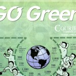 """The Courier\'s \""""Go Green\"""" tabloid"""